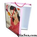 Custom Apparel Paper box with Rope handle for Clothing,Garment
