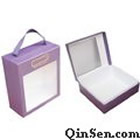 Unique Lingerie Box with Window&Handle<br>Rigid Cardboard Box