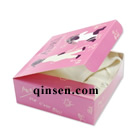 Custom baby lingerie Paper Box with Design<br>Foldable one-piece box