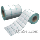 Custom Paper sticker with roll printing packaging