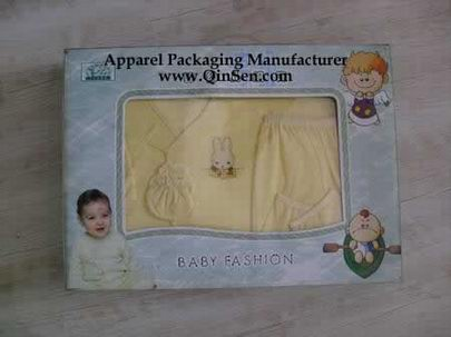 Luxury Baby clothing box with window
