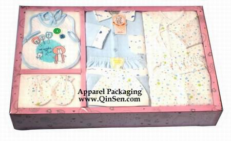Paper box for Baby Clothes Packaging design