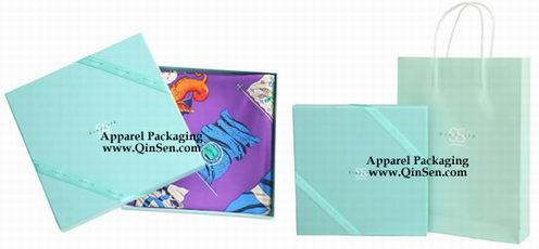 a71588b4b Luxury Gift Box with gift bag for silk neckerchief/Silk scarf ...