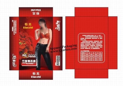 Custom Lingerie Box Design For Cardboard Box Px000108