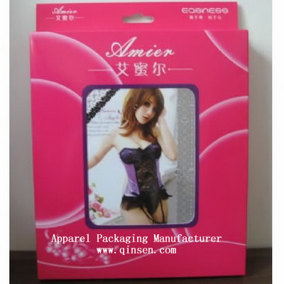 Custom Sexy Lingerie Packaging Box